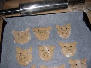 Piggy-Brötchen