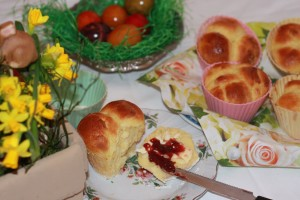 Brioche in Cupcake Formen
