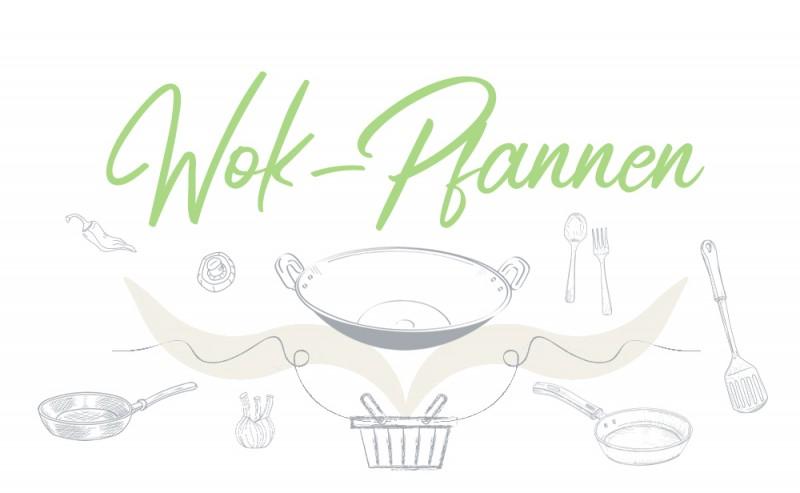 Wok-Pfannen