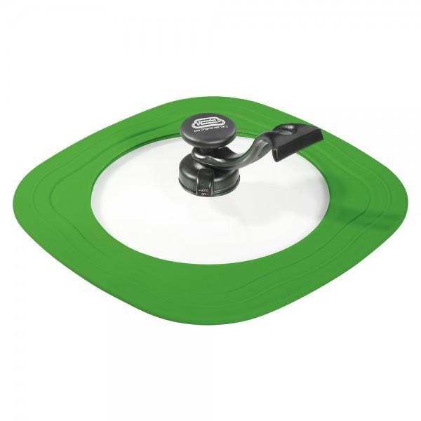 Gundel Energiespar-Bratdeckel eckig 24-30 cm